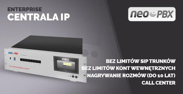 Enterprise centrala IP